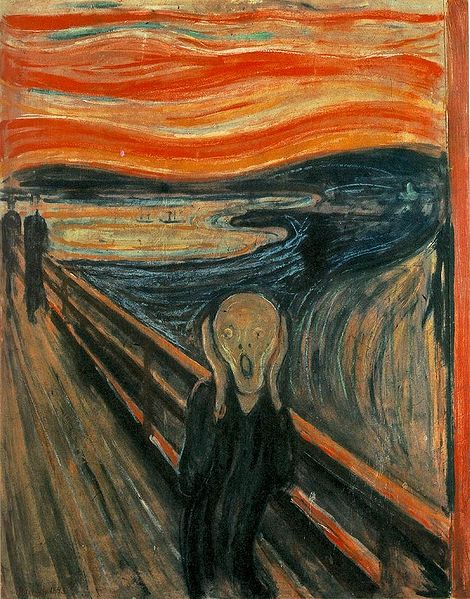 The_Scream 1893 Edvard Munch