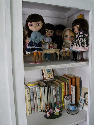 The Doll Cabinet.