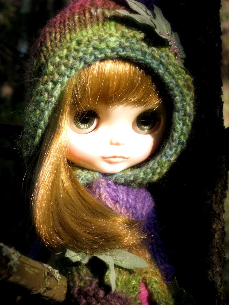 First blogiversary mademoiselle blythe for Blythe le jardin de maman